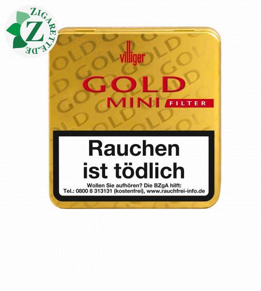 Villiger Gold Mini Filter, 20er