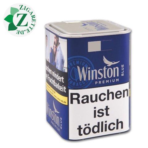 Winston Cigarette Tobacco Blue Tin-M, 100g