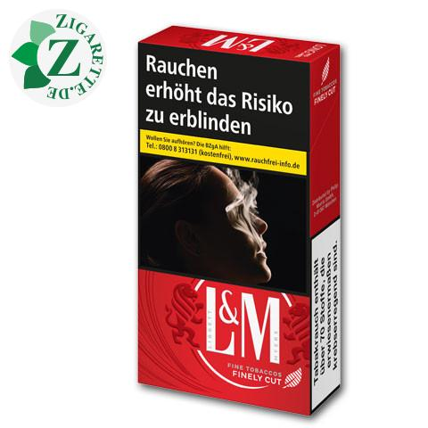 L&M Red Label Long 6,90 € Zigaretten