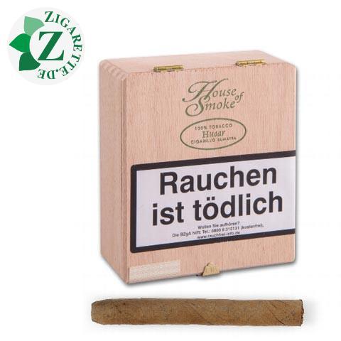 House of Smoke Husar Sumatra Zigarillos, 20er
