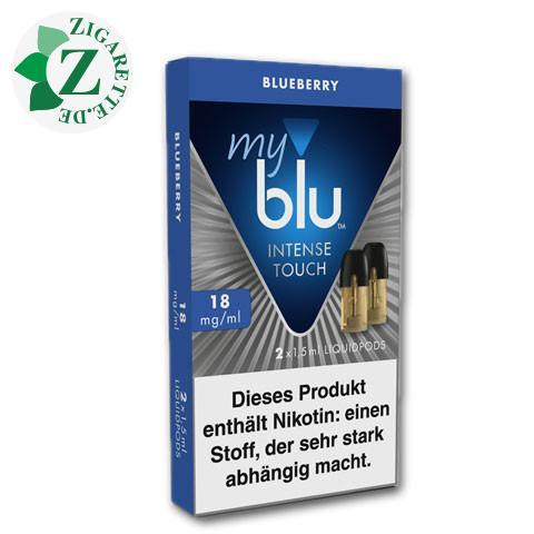 myblu Intense Touch Liquid-Pods Blueberry 18mg Nikotin