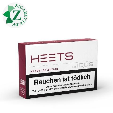 Heets Russet Selection Tobacco Sticks Einzelpackung [Terra]