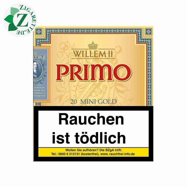 Willem II Primo Line Mini Sumatra Zigarillos, 20er