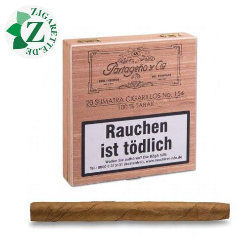 Partageno 154 Sumatra Zigarillos, 20er