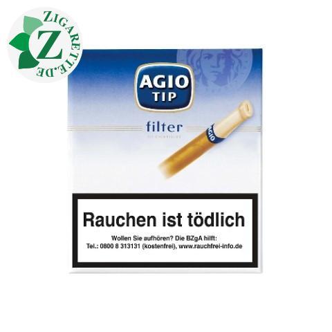Agio Filter Tip Blau Zigarillos, 20er