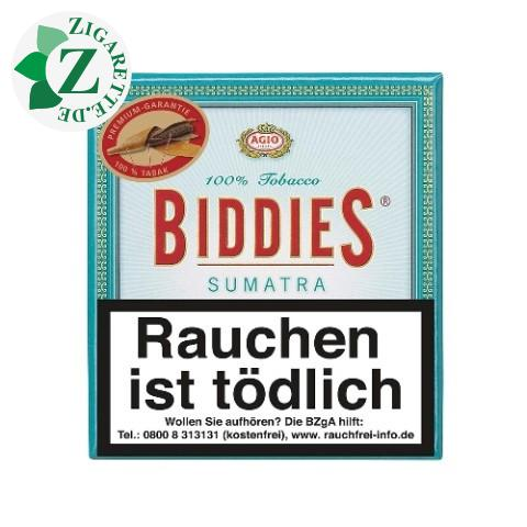 Agio Biddies Sumatra Zigarillos, 20er