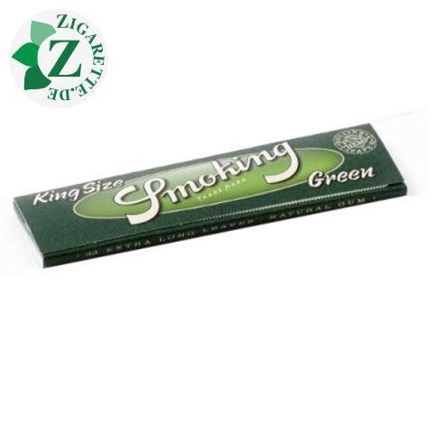 Smoking King Size Green