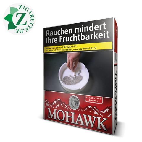 Mohawk Classic Red Big Box 6,70 € Zigaretten