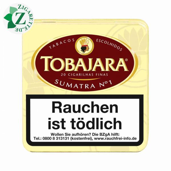 Tobajara No. 1 Sumatra Zigarillos, 20er
