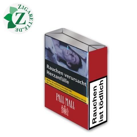 Pall Mall Red ohne Filter 7,20 € Zigaretten