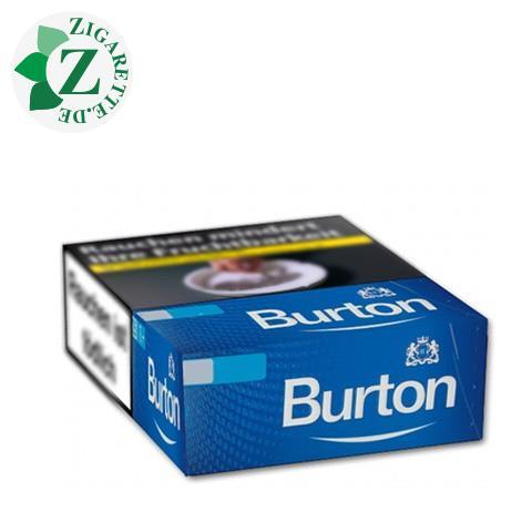 Burton Blue L-Box 6,20 € Zigaretten