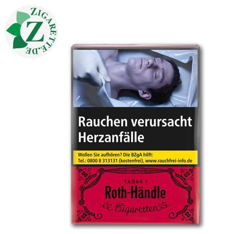 Roth-Händle ohne Filter 7,40 € Zigaretten