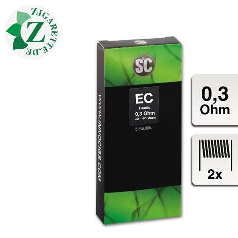 SC E-Clearomizercoil EC - 0.3 Ohm