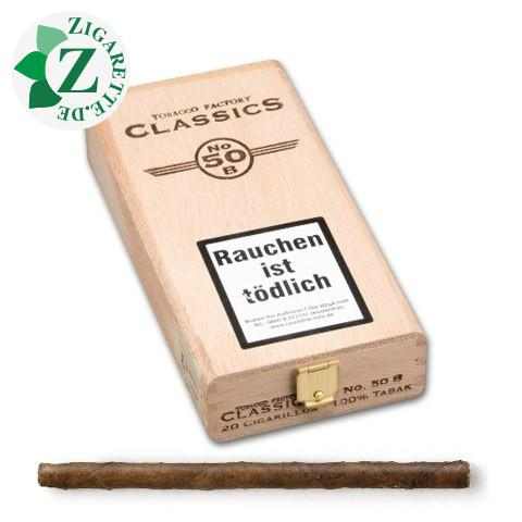Tobacco Factory Classics Nr. 50 Brasil Zigarillos, 20er