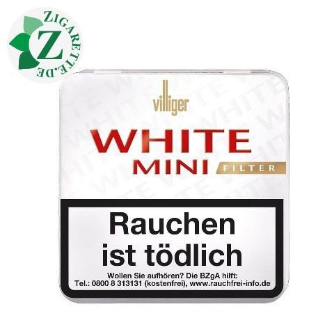 Villiger White Mini Filter, 20er