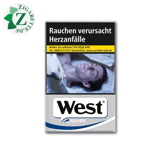 West Silver 7,00 € Zigaretten