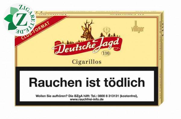 Deutsche Jagd 110 Zigarillos, 10er