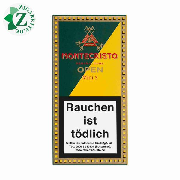 Montecristo Open Mini Zigarillos, 5er