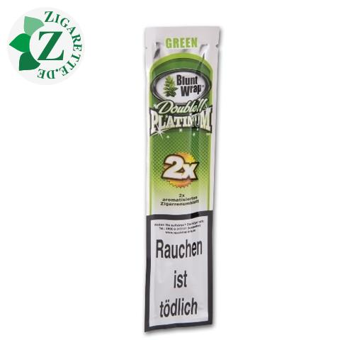 Bluntwrap Double Platinum Green