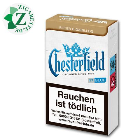 Chesterfield Blue Filterzigarillos