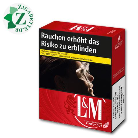 L&M Red Label 3XL-Box 9,90 € Zigaretten