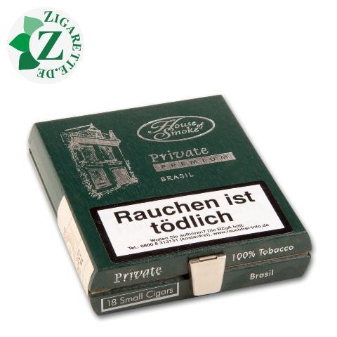 House of Smoke Private Premium Brasil Zigarillos, 18er