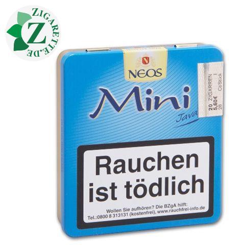 Neos Mini Java Zigarillos, 20er