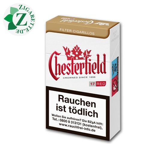 Chesterfield Red Filterzigarillos King Size