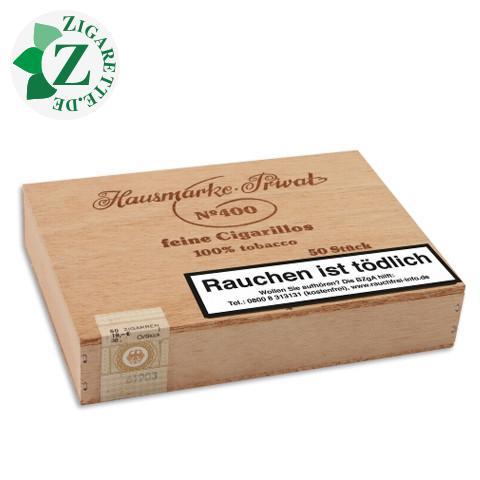 Hausmarke Brasil No. 400 Zigarillos, 50er