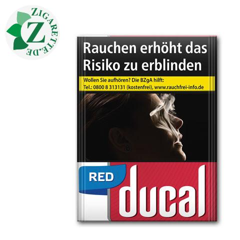 Ducal Red XXL-Box 7,50 € Zigaretten