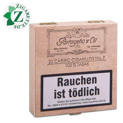 Partageno 7 Caribic Zigarillos, 20er