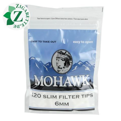 Mohawk Slim Filter Tips 6 mm Einzelpackung