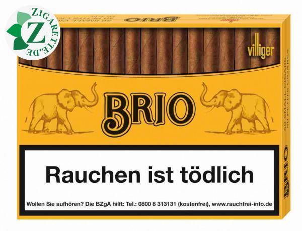 Brio Cigarillos Zigarillos, 50er