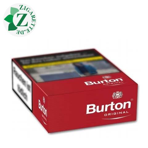 Burton Original XXL-Box 8,00 € Zigaretten