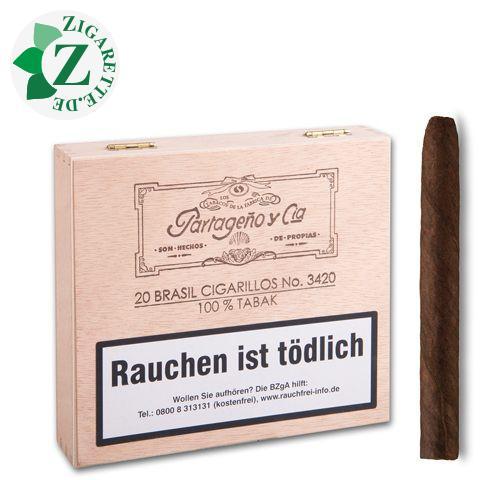 Partageno 3420 Brasil Zigarillos, 20er