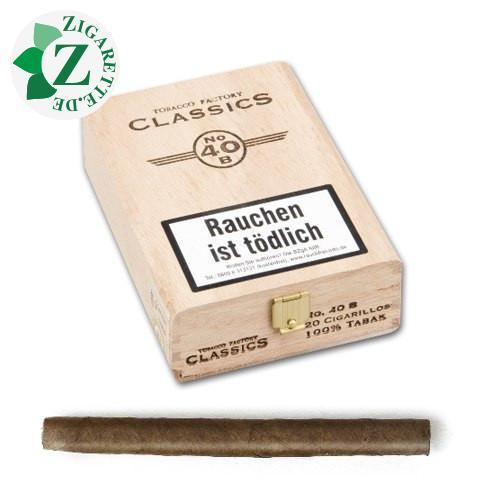 Tobacco Factory Classics Nr. 40 Brasil Zigarillos, 20er