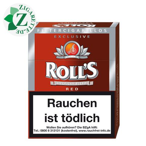 Roll's Exklusive Red Filterzigarillo