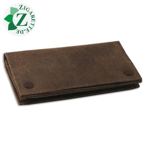 Feinschnitt - Tasche, Wildleder, Antik Braun