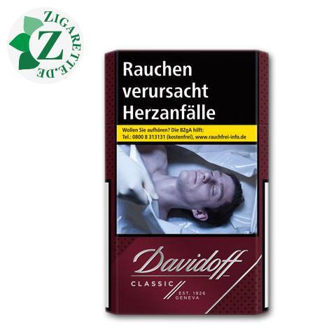 Davidoff Classic 7,20 € Zigaretten