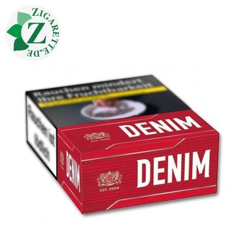 Denim Red L-Box 5,20 € Zigaretten