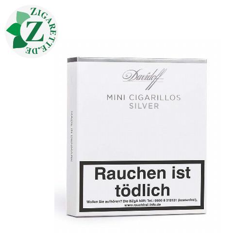 Davidoff Mini Cigarillos Silver, 20er