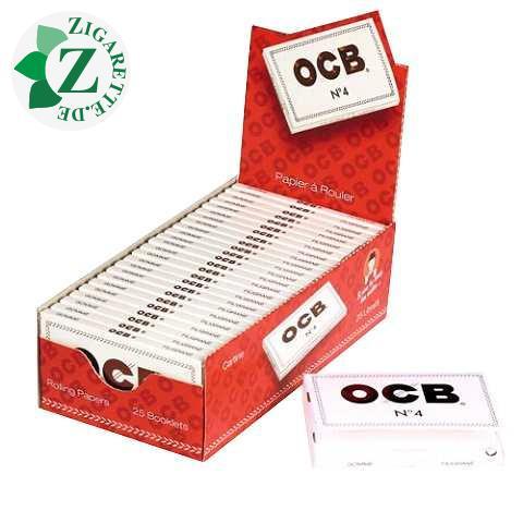 OCB filigran No. 4 kurz weiss