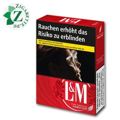 L&M Red Label XL-Box 8,00 € Zigaretten