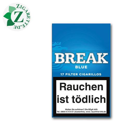 Break Blue Filterzigarillos