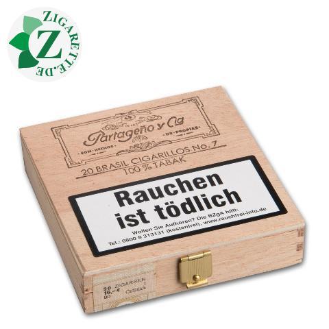 Partageno 7 Sumatra Zigarillos, 20er