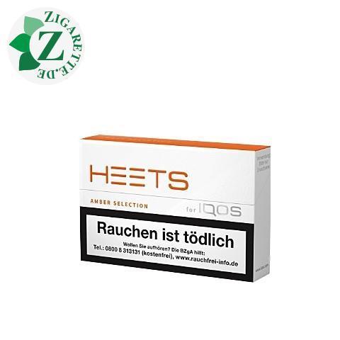 Heets Amber Label Tobacco Sticks