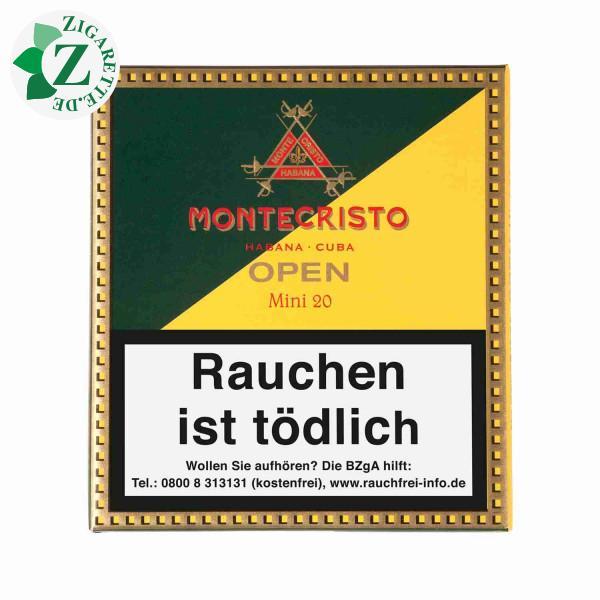 Montecristo Open Mini Zigarillos, 20er