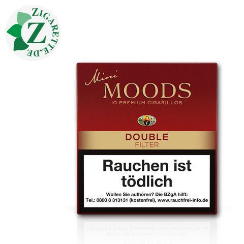 Dannemann Moods Mini Double Filter, 10er