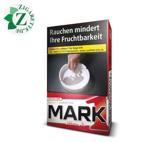 Mark Adams No.1 Red 5,50 € Zigaretten