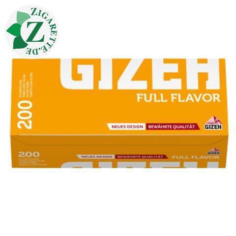 Gizeh Full Flavor Hülsen, 200er